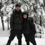 Snowshoeing on Bachelor