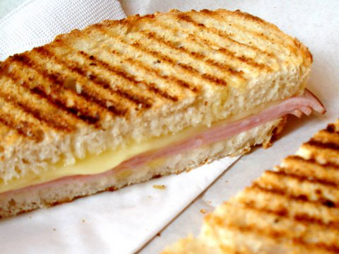 Line from Linda: Croque Monsieur Predecessor to Grilled Cheese