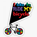 work.6300538.2.sticker,220x200-pad,220x200,f8f8f8.i-like-to-ride-my-bicycle-v1