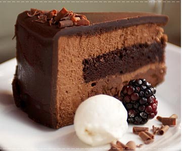 Resep Chocolate Mousse Cake